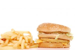 fast food and yeast infection