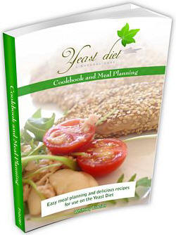 yeast diet cook book